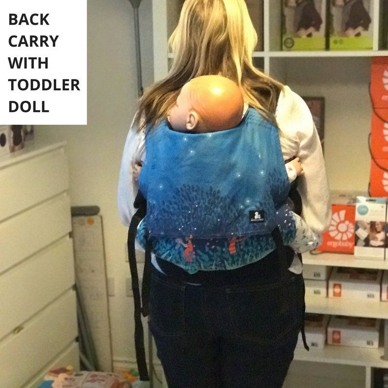 Sleepy Nico Toddler Carrier Review